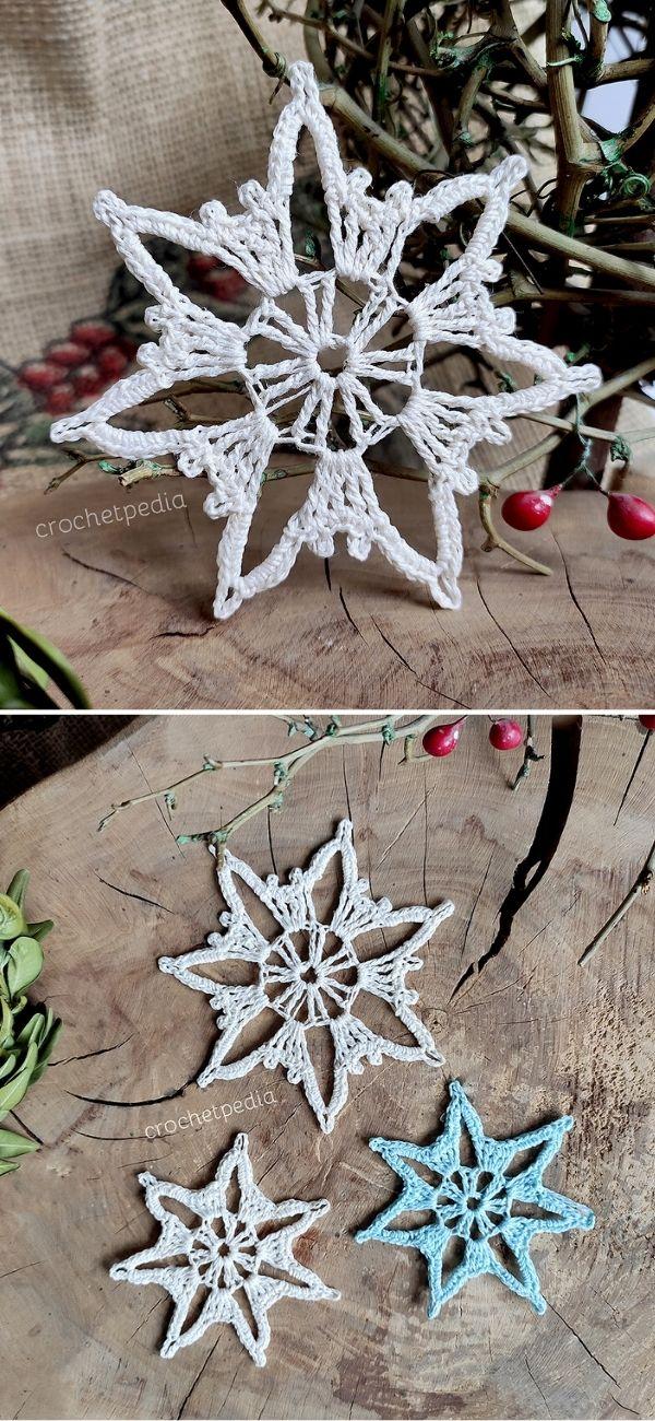 Crystal Star Snowflake
