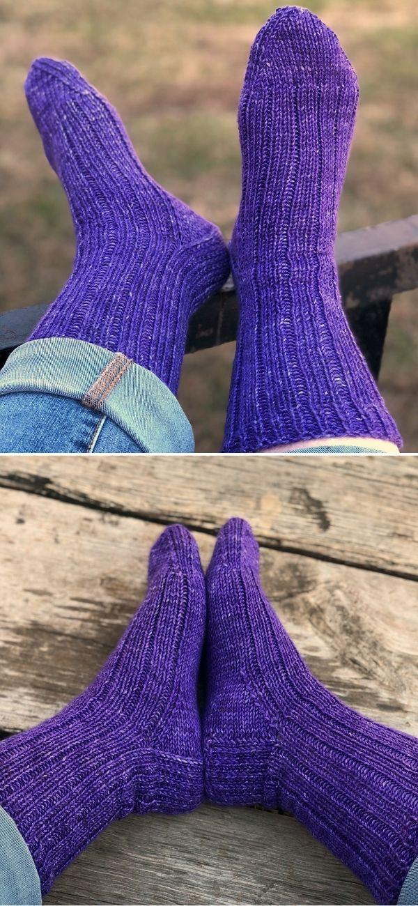 DK Treasures Ribbed Socks