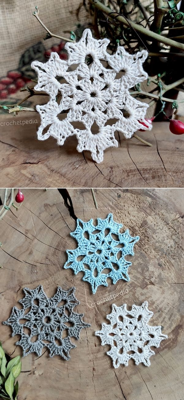 Frozen Flower Snowflake