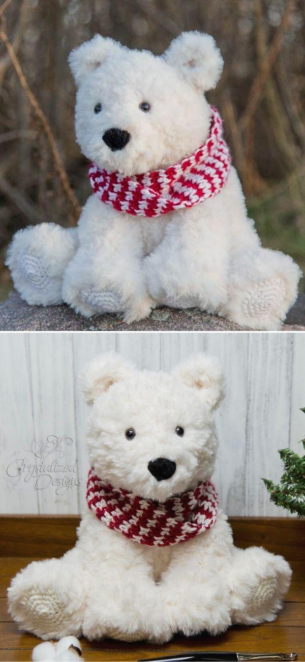 Peppermint the Polar Bear