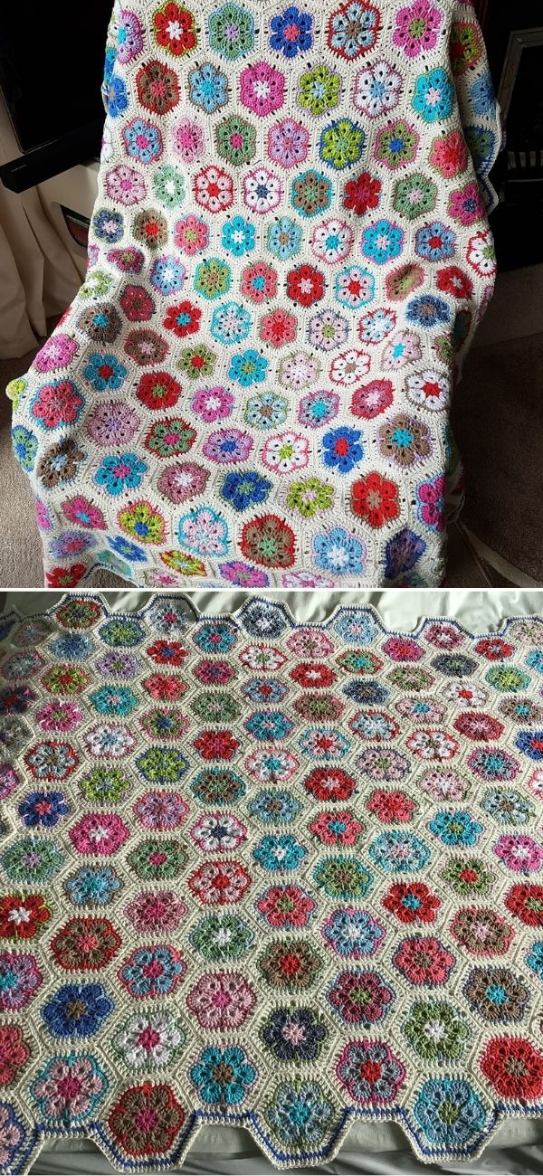 Blanket of hexagons
