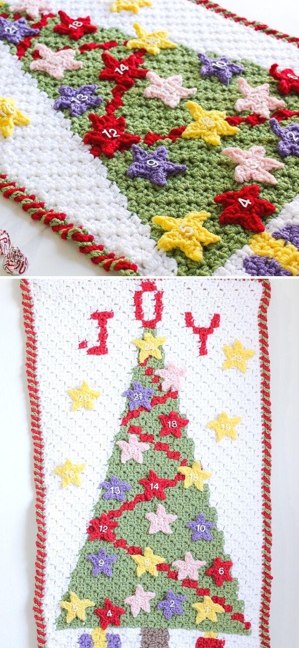 Christmas Tree Joy C2C Advent Calendar