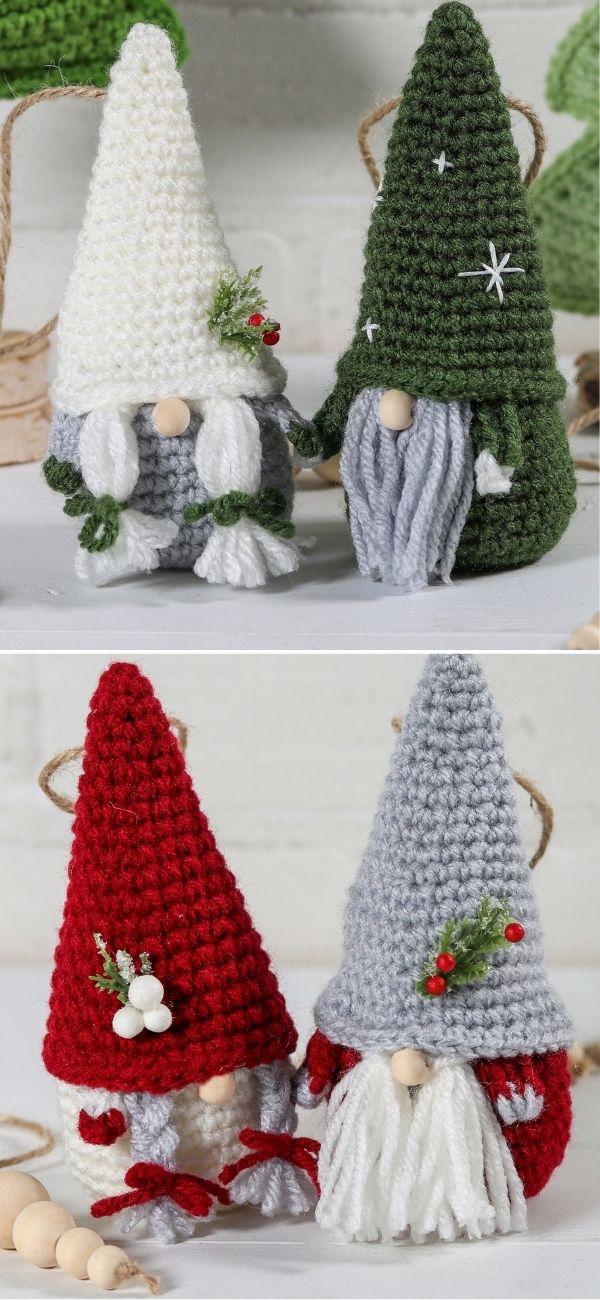 Easy Gnome Ornaments
