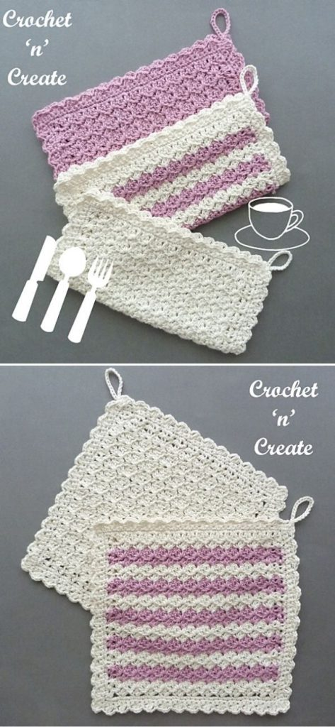 Hanging Dishcloth