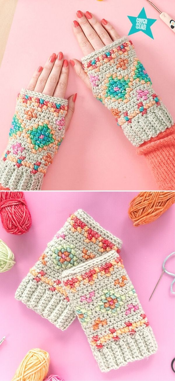 Hygge Embroidered Wristies