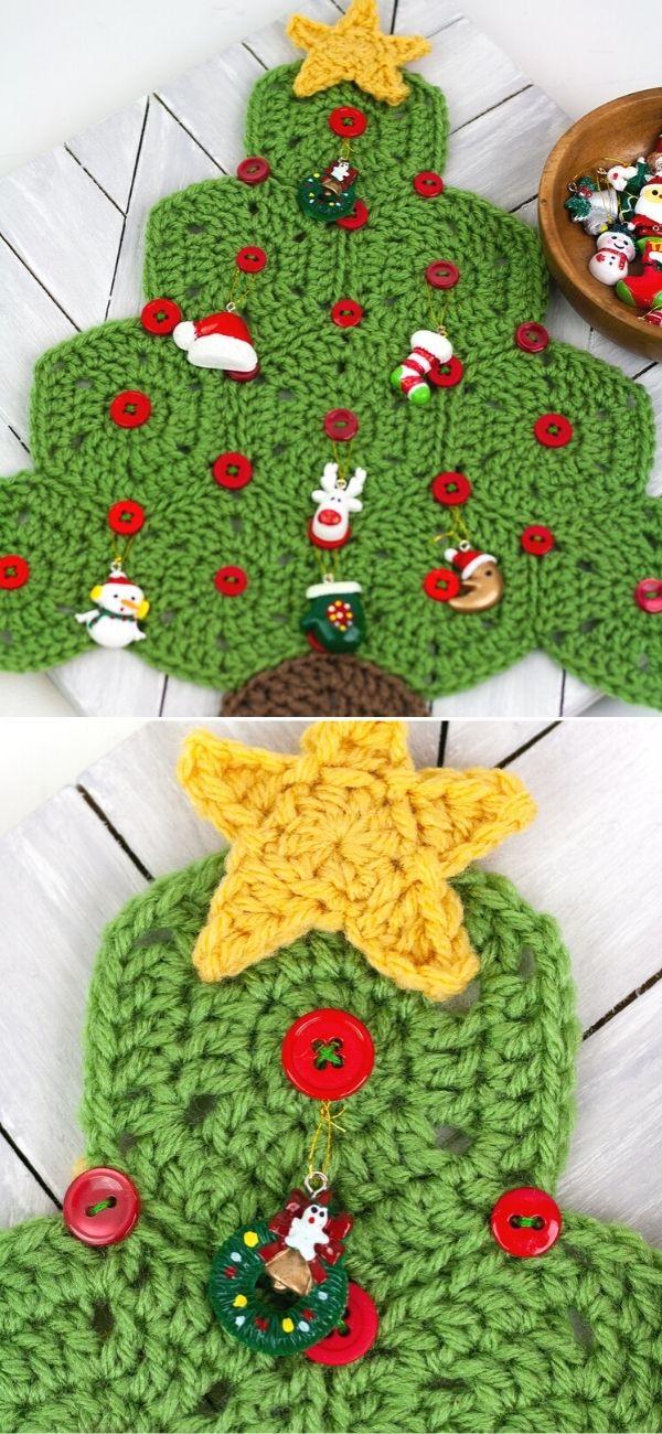 Mini Advent Tree Calendar