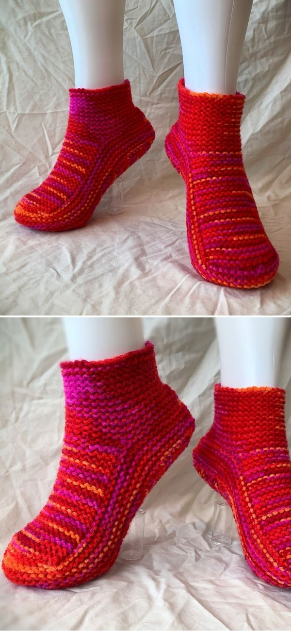Moccasin Slippers with a Cuff