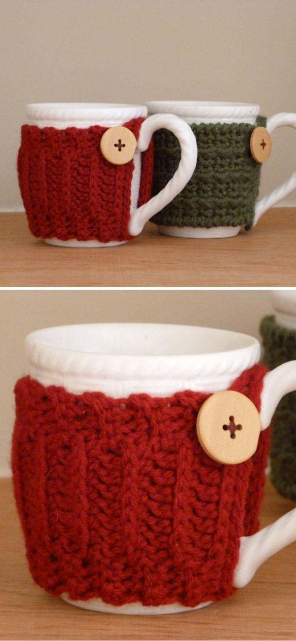 Sweater Mug Cozies