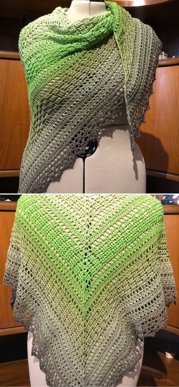 Weaving Willow Shawl