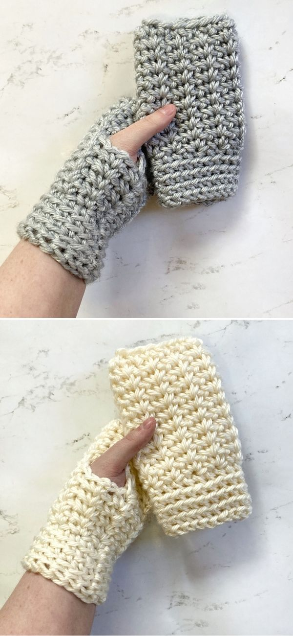 Wintertime Fingerless Gloves