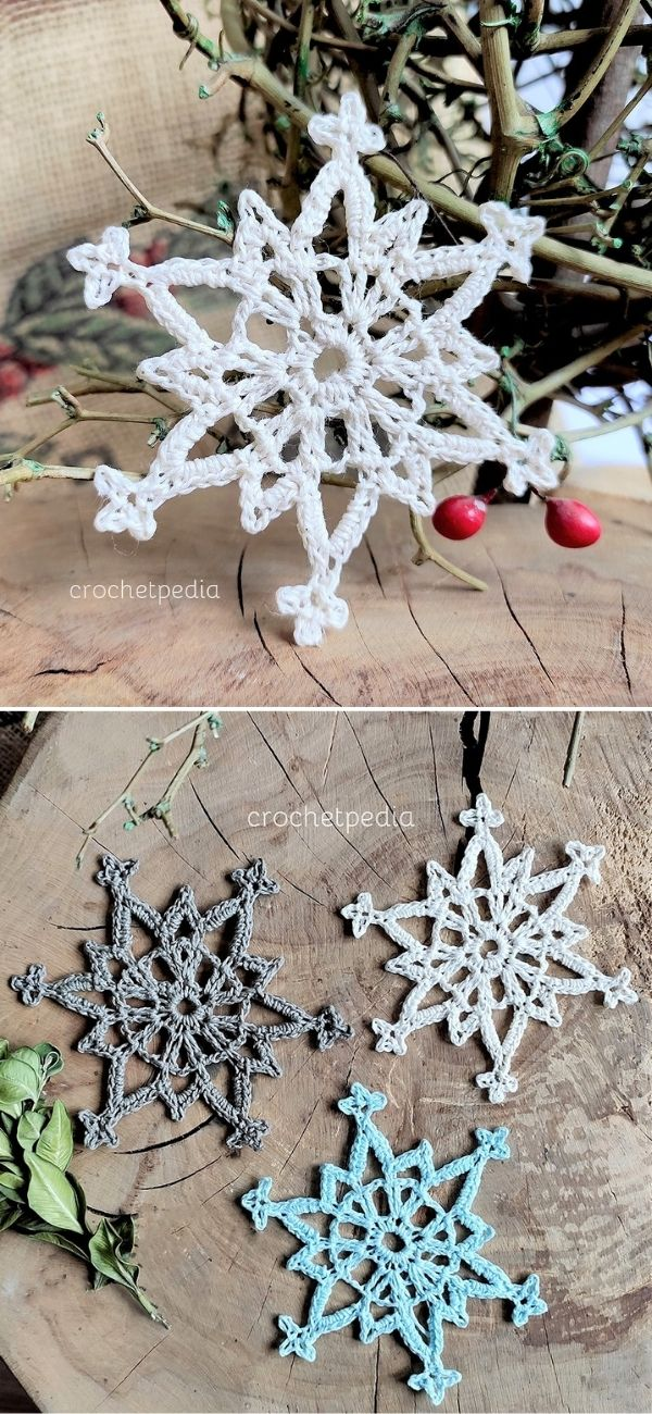Icy Lace Snowflake
