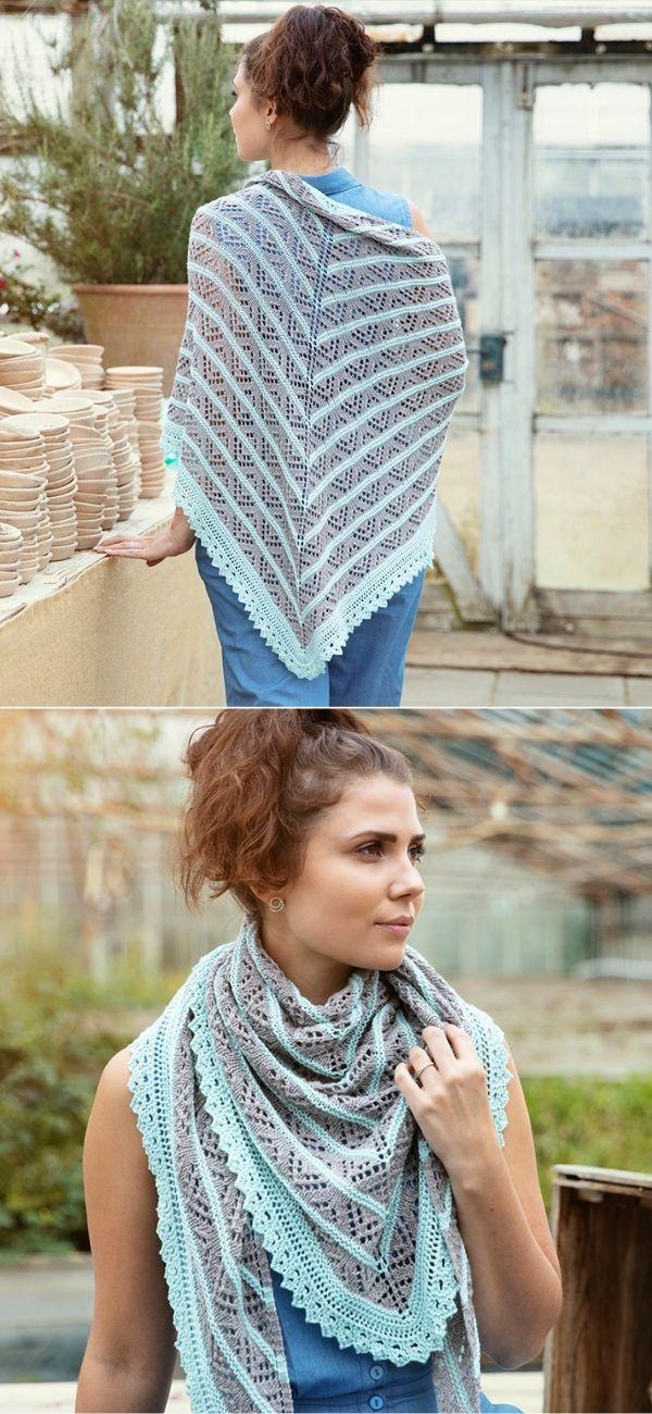 A beautiful spring shawl