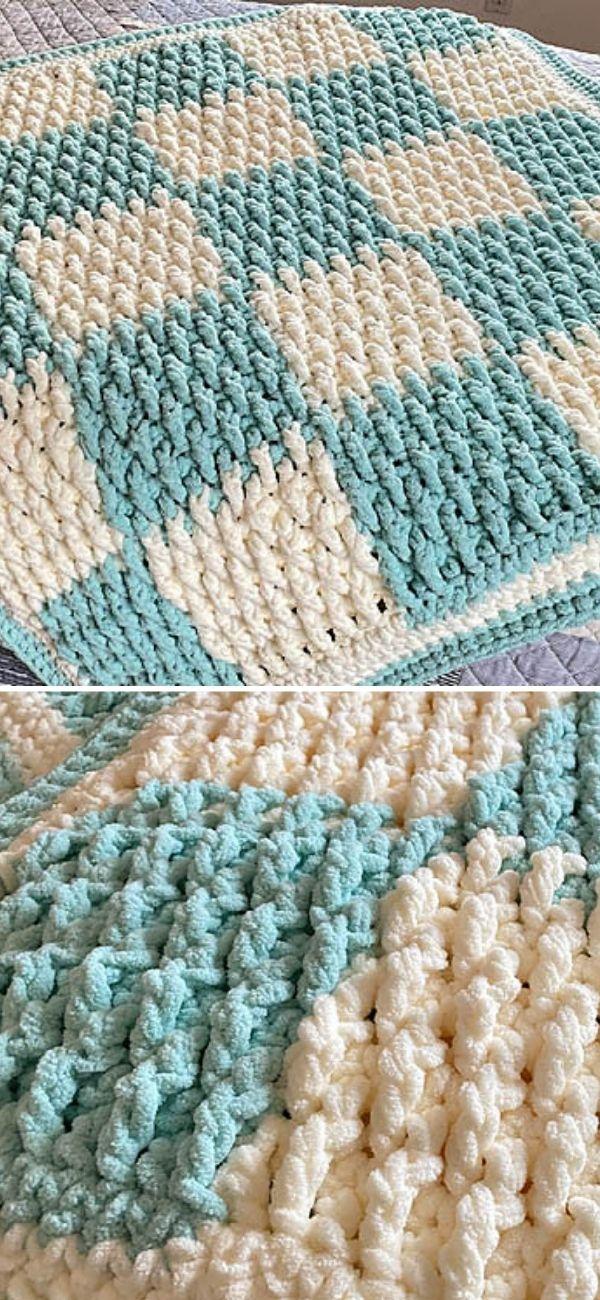Baby Checker Blanket