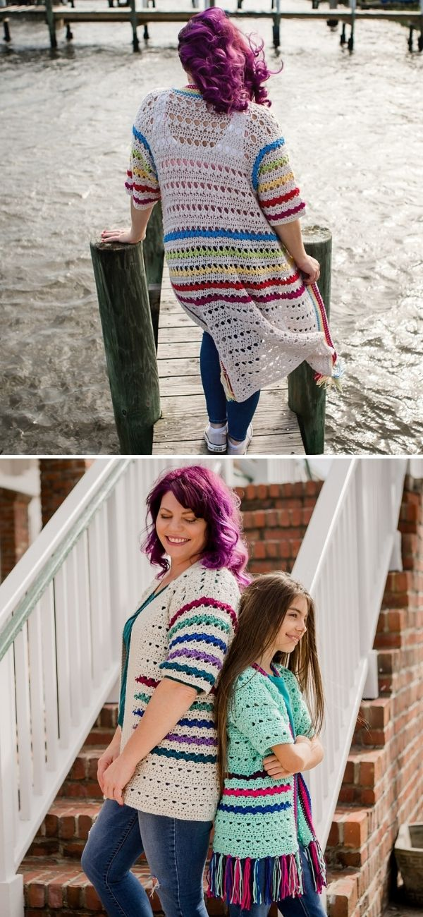Brighter Days Lace Cardigan
