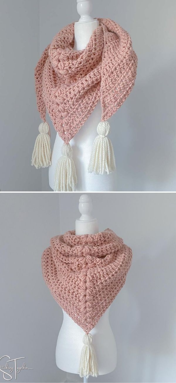 Collins Chunky Triangle Scarf