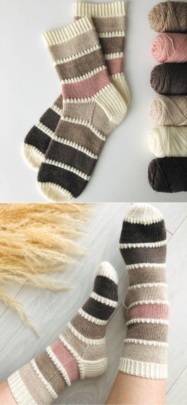 Color Palette Socks