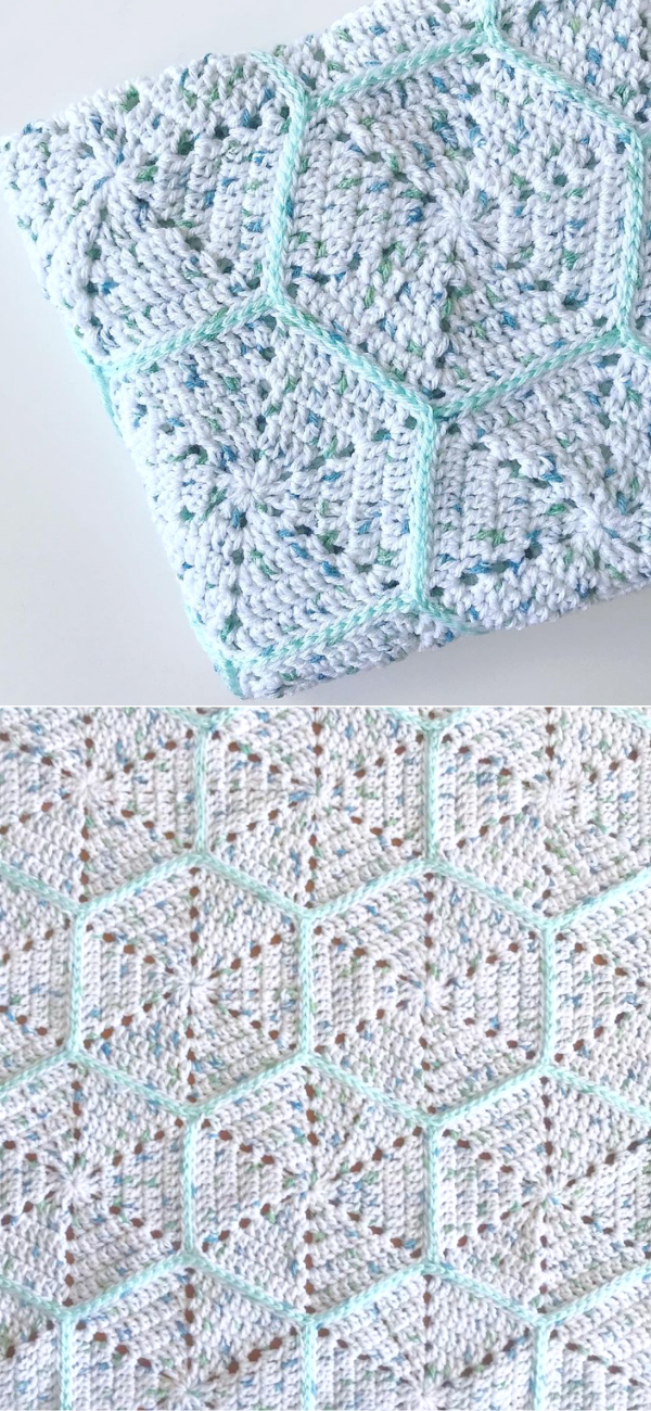 Hexagon Blanket 2