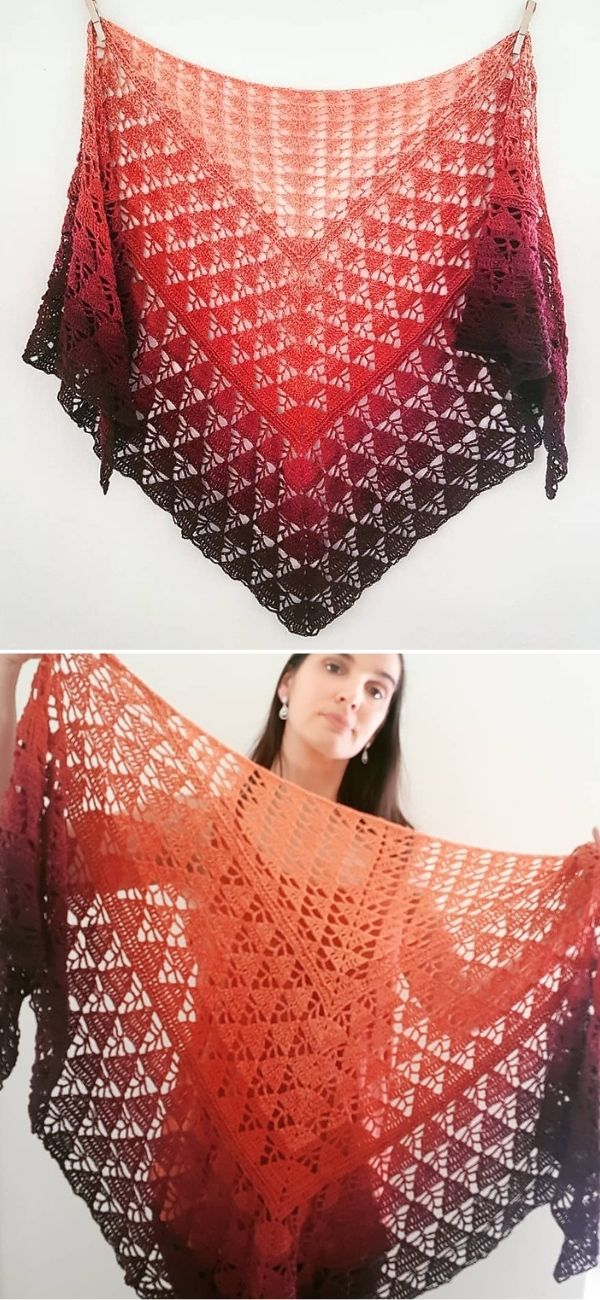 Sunday Strolls Shawl