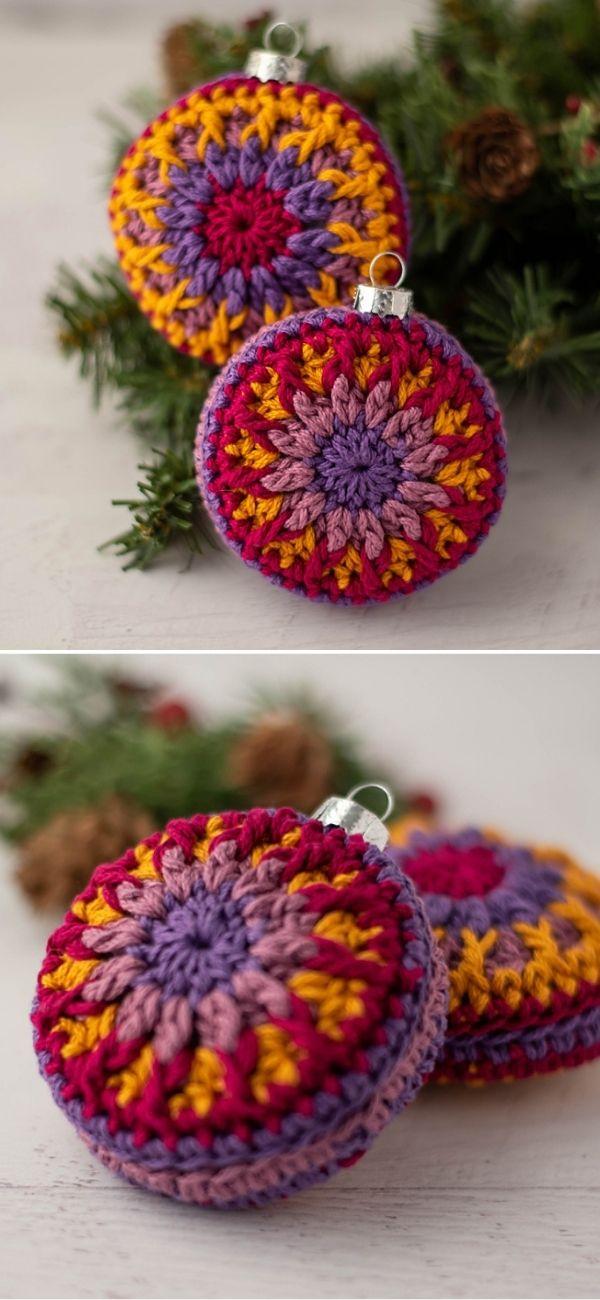 Vintage Vibe Christmas Ornament