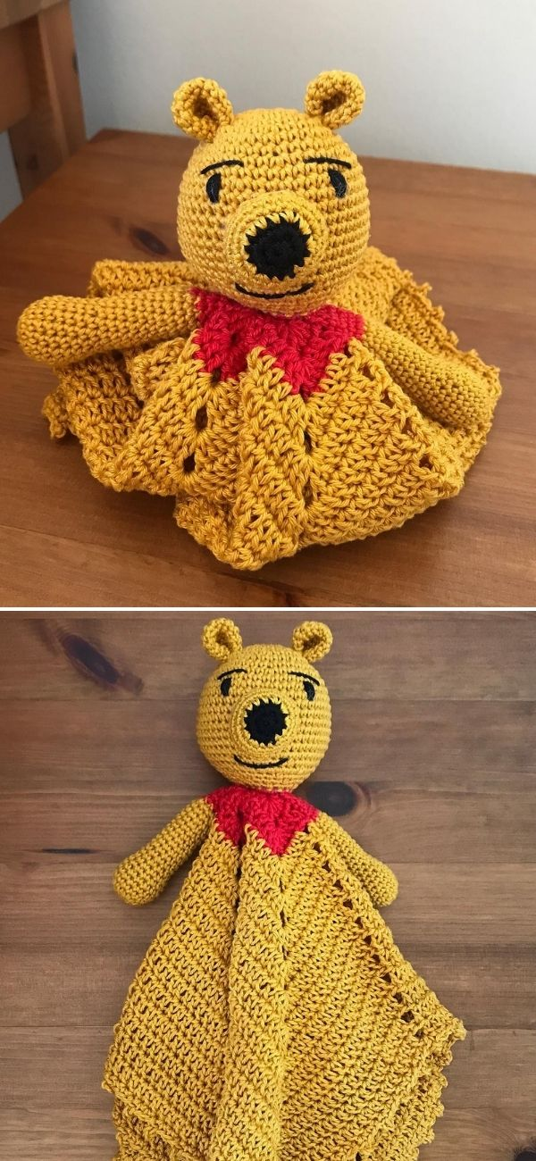 Winnie the Pooh Security Blanket