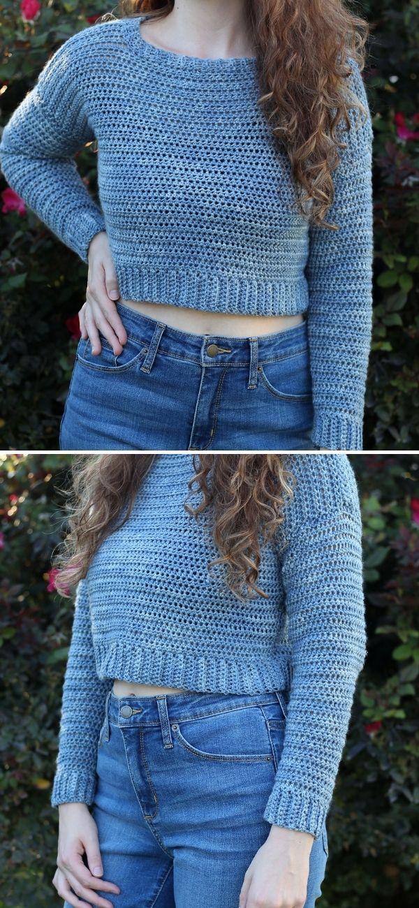 Acacia Cropped Sweater