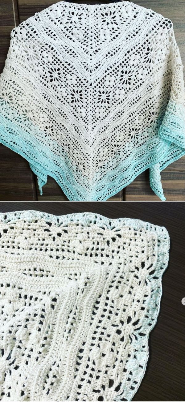 Daisy Chain ShawlDaisy Chain Shawl