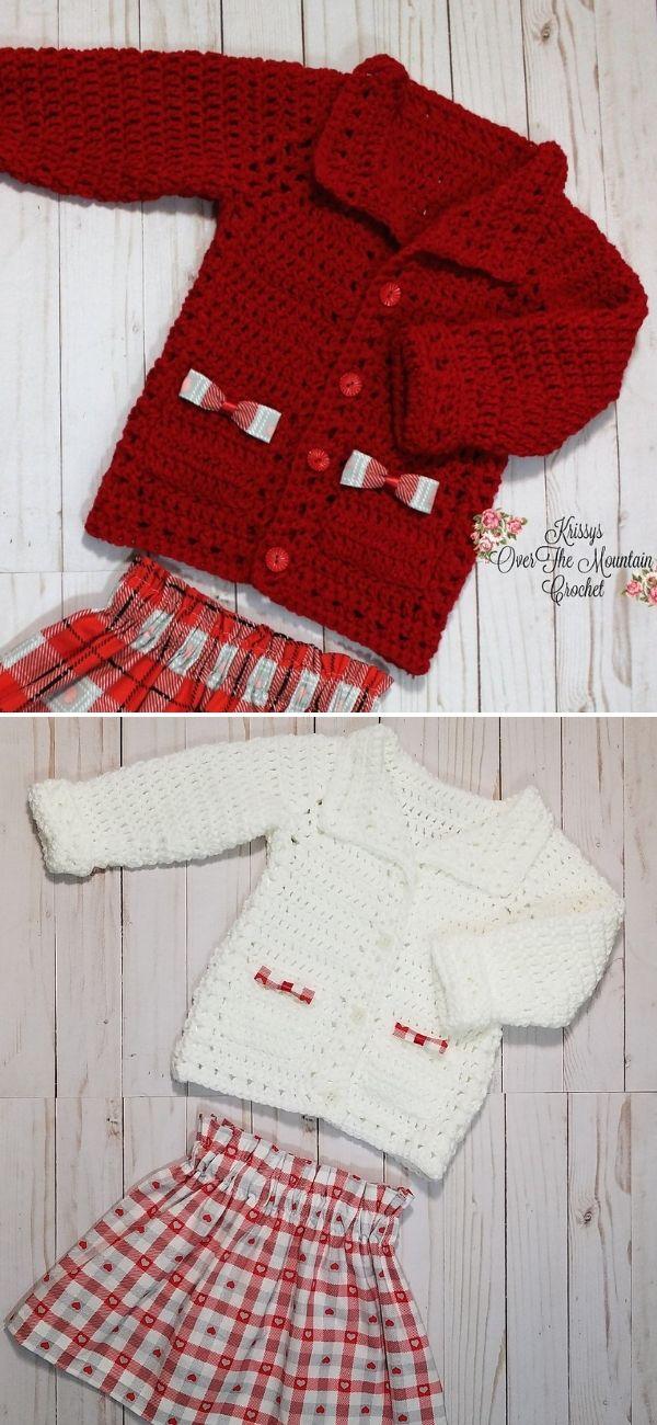 Gracie's Valentine Sweater