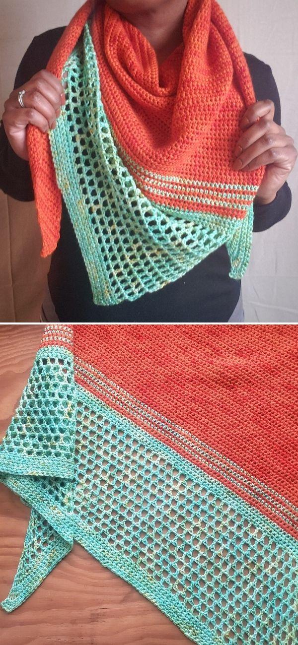 Lenox Crochet Shawl