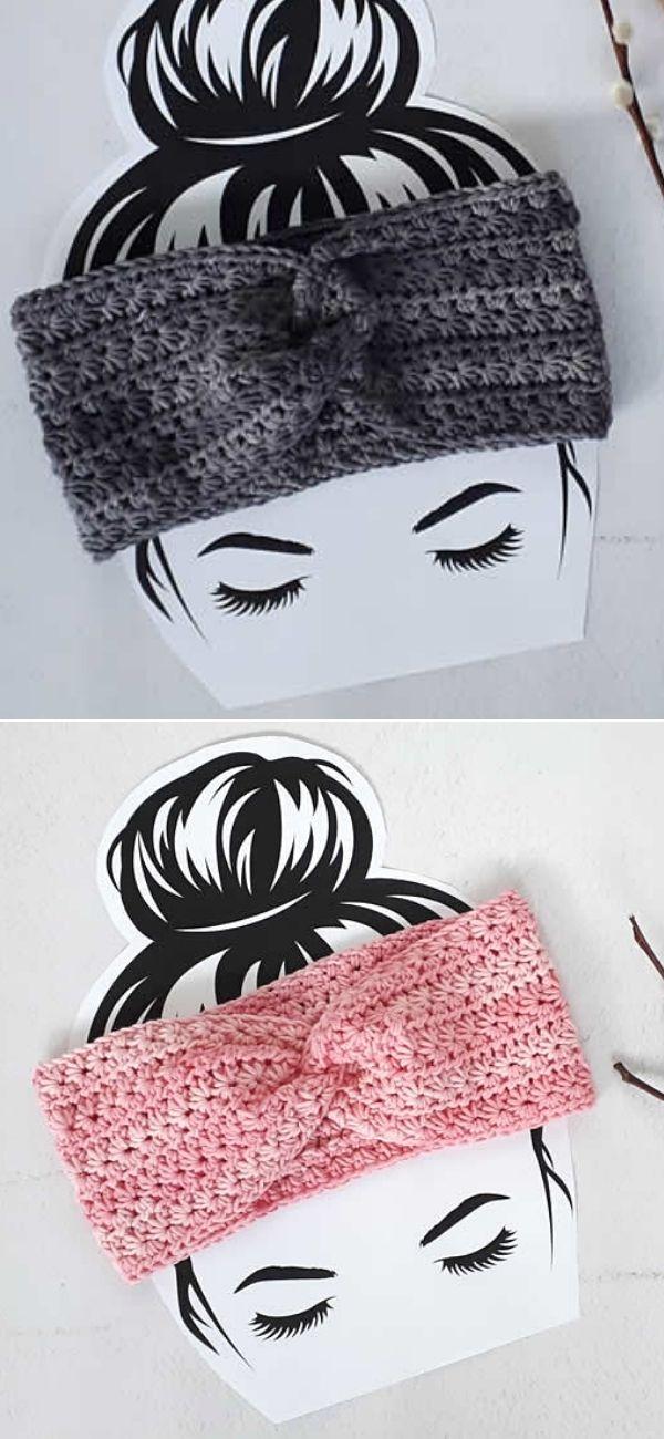 Winter star headband