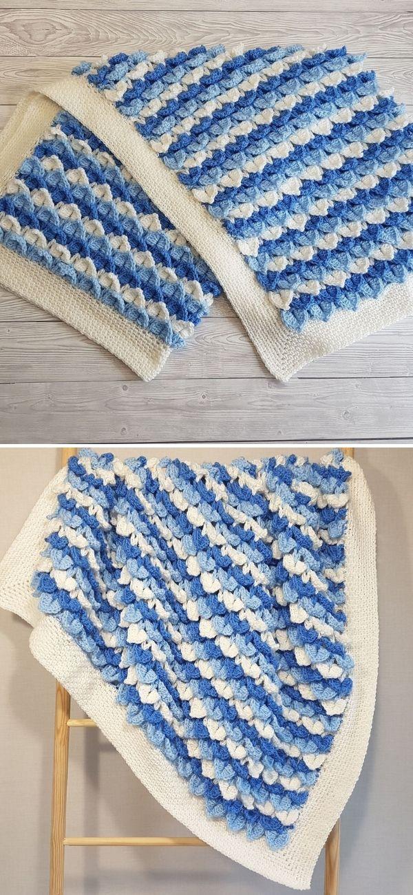 Frozen Hearts Baby Blanket