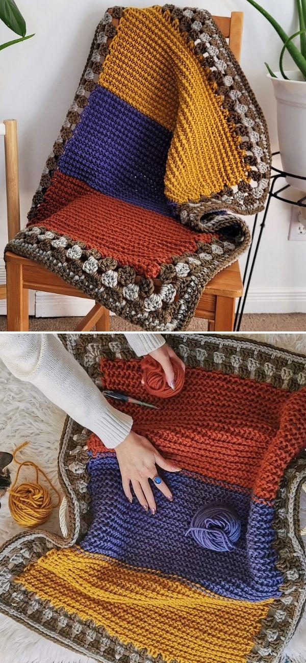 Huckleberry Baby Blanket