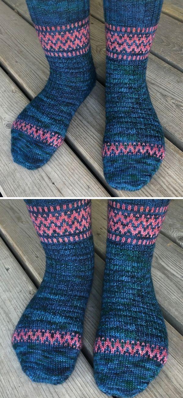 Rickrack Socks