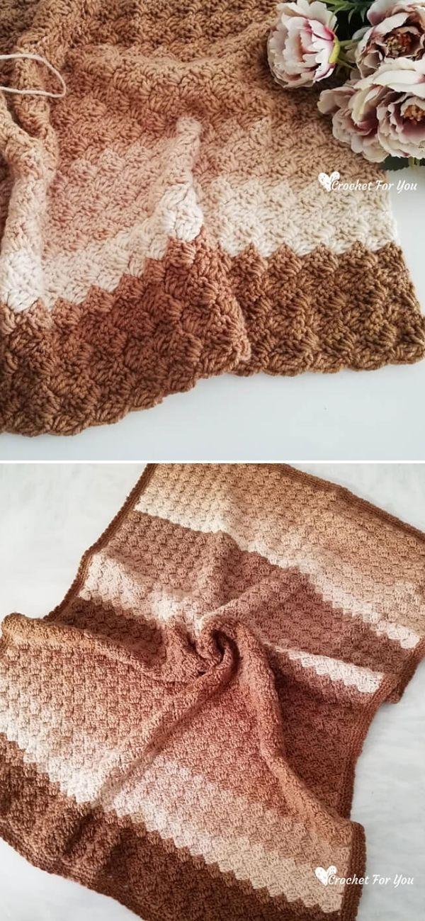 Tulip Stitch Blanket