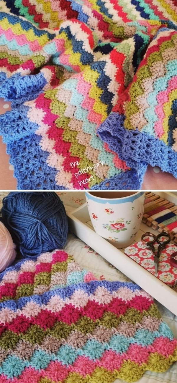 Crochet Harlequin Stitch