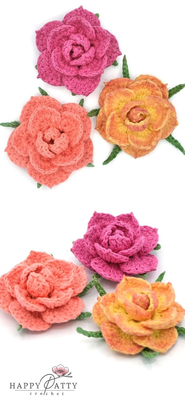 Easy Rose Applique (YT)