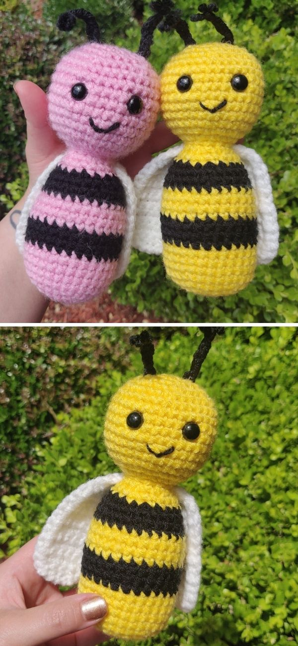 Polli and Nate the Bee's