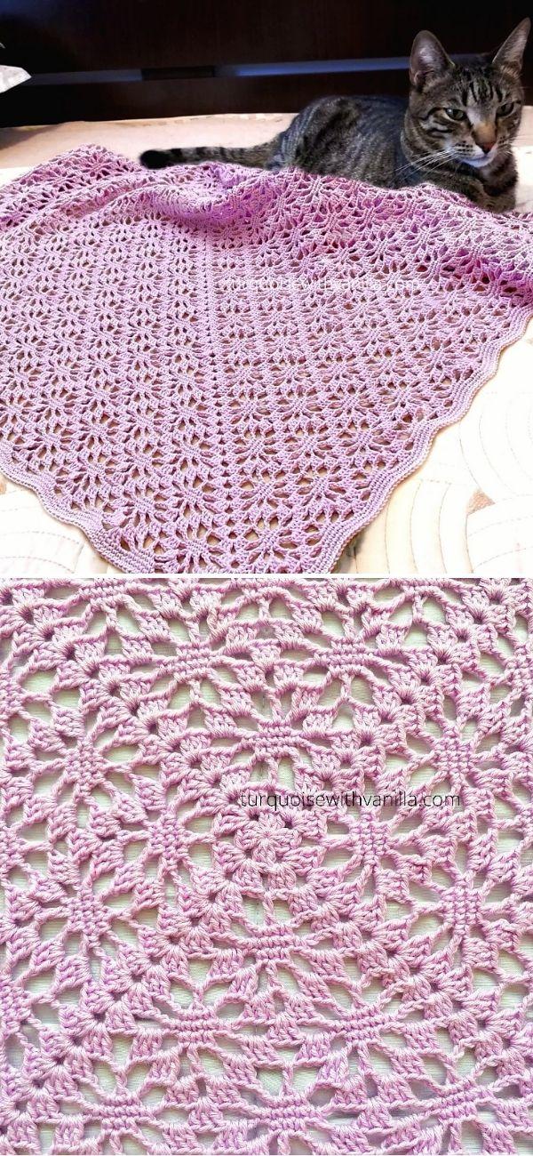 1.Summer baby blanketjpg