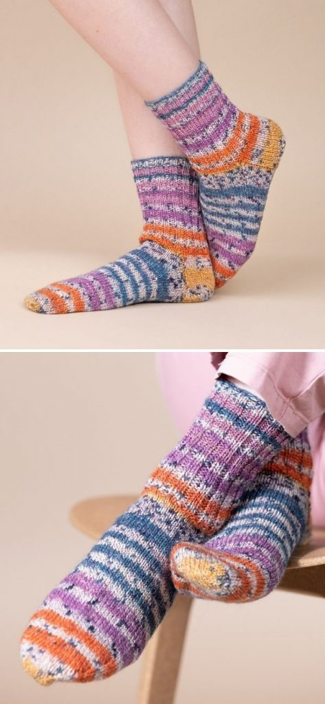 City Stripe Socks