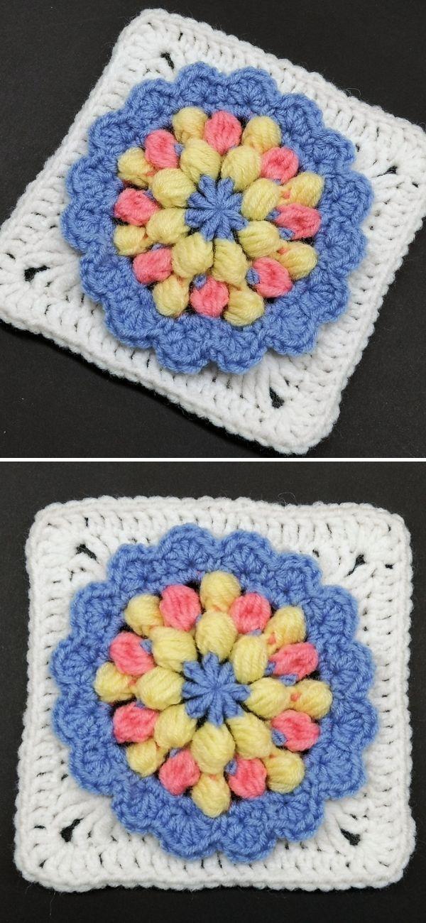 Crochet Square Pattern #60