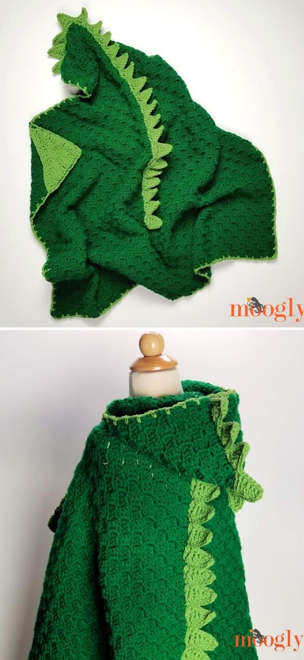 Cuddle Up Dinosaur Blanket