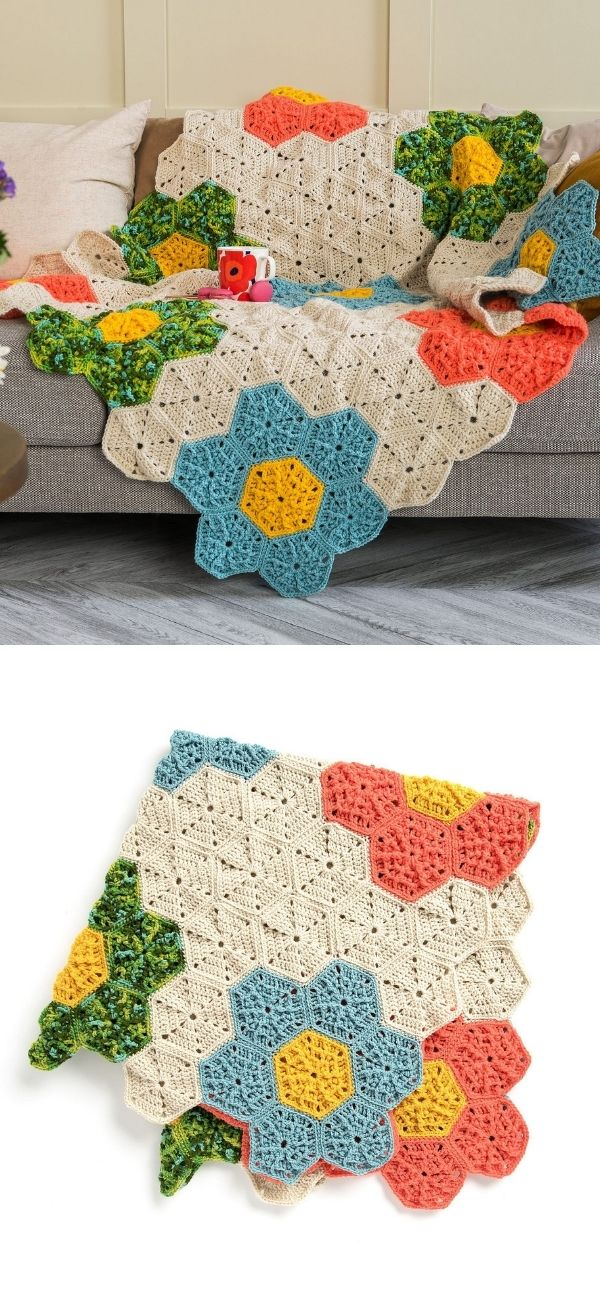 Flower Patch Throw
