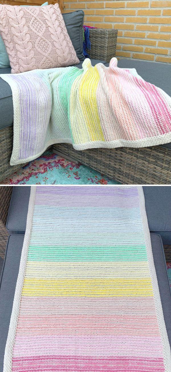 Rainbow Ridge Blanket 16.08.19