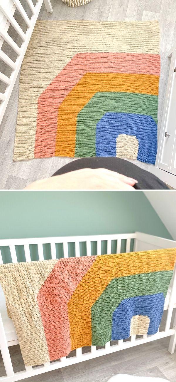 Rainbow Ridge Blanket