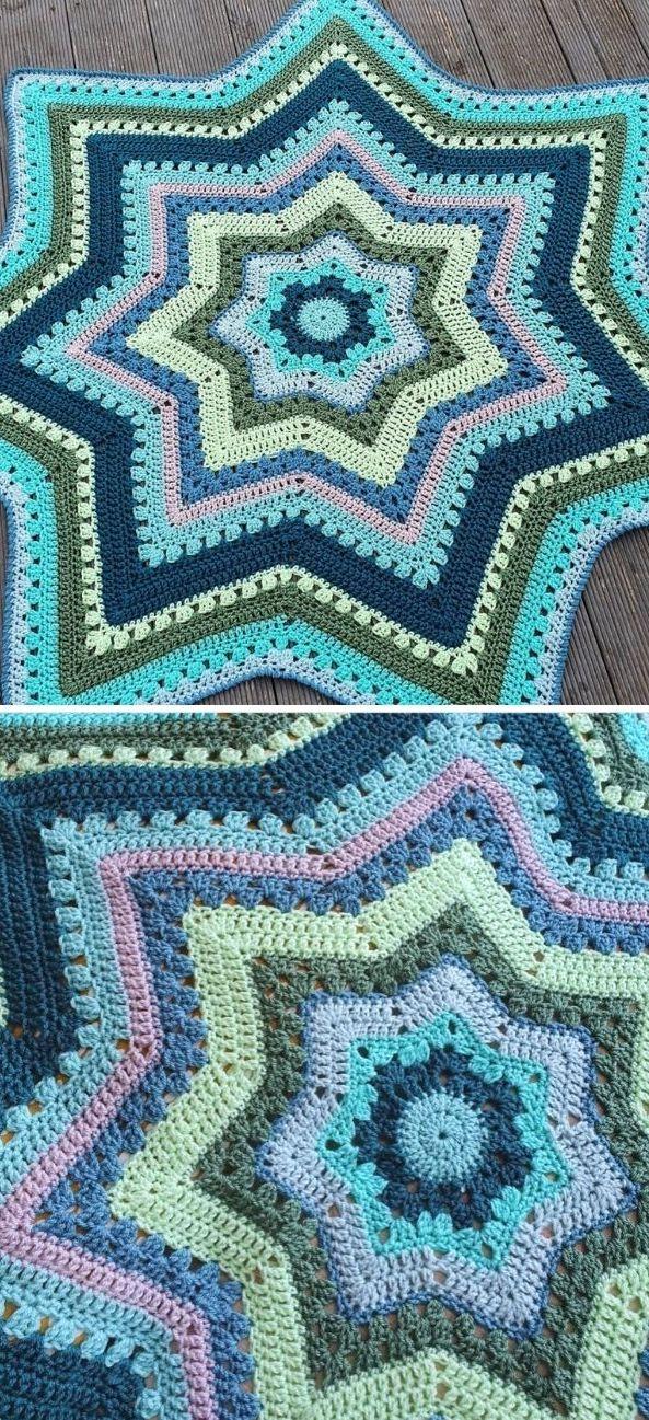 6 day star blanket