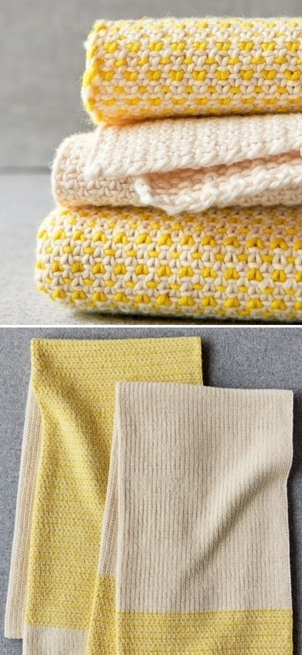 Colorfield Hand Towels