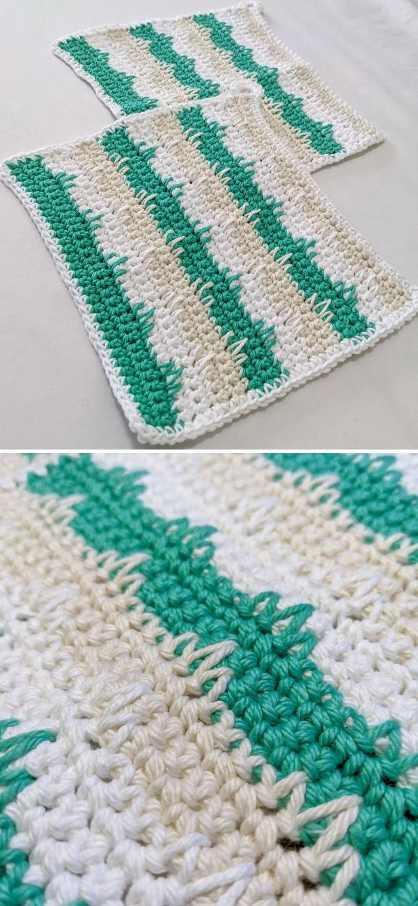 Making Waves Dishcloth