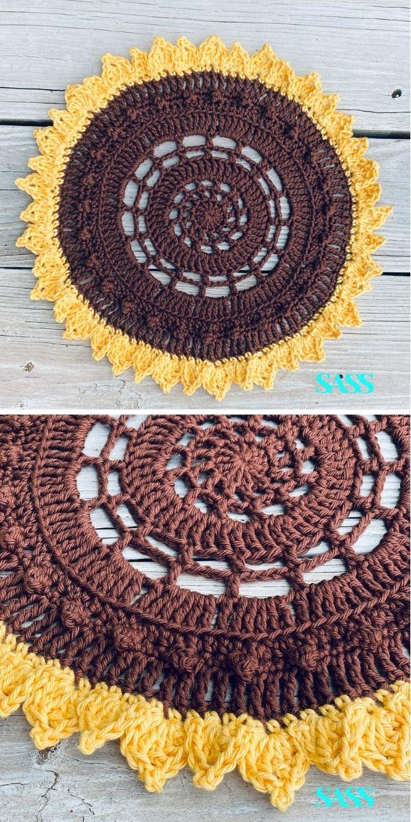 SASSy Sunflower Placemat