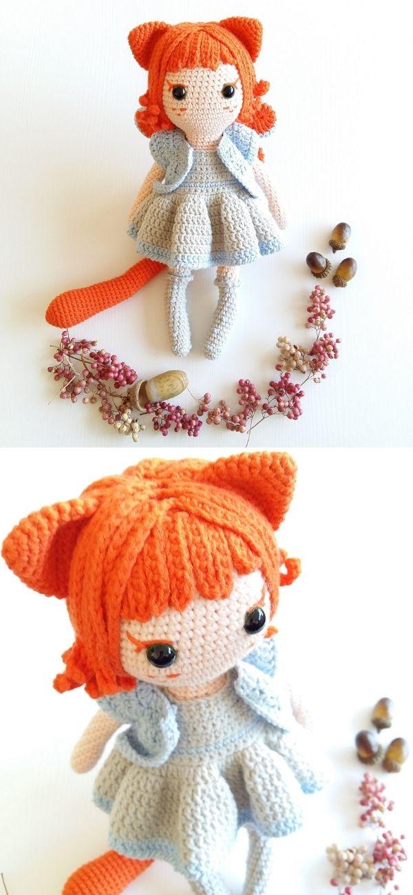 Cat Fairy Girl Amigurumi